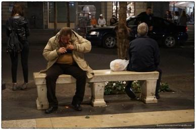 Catania - persone in strada