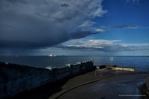 Dublino - vista sul mare