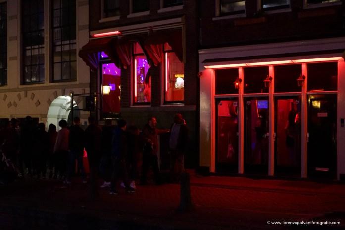 Amsterdam - il quartiere a luci rosse