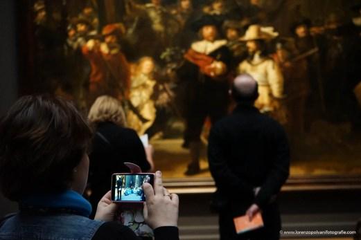 Amsterdam La ronda di Notte di Rembrandt