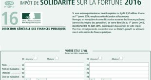 ISF impot fortune Fillon