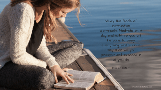 Jushua 1:8 Study Constantly