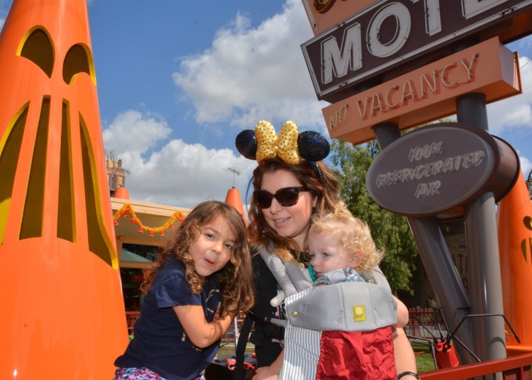 Disneyland is a favorite for this mom