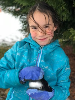 The weather went from snow to rain, but it didn't stop the fun