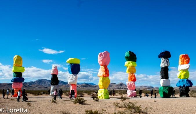 7 Magic Mountains, Nevada