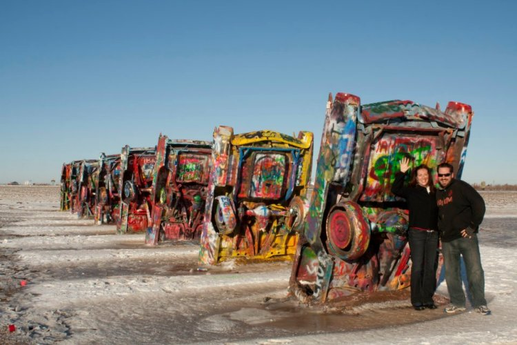 Have you ever been to the Cadillac Ranch?
