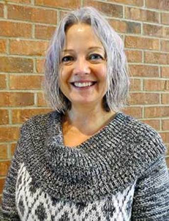 Earna Volk, Motherhouse receptionist, becomes Loretto's newest co-member.