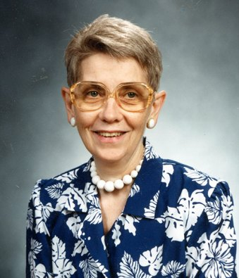 A photograph of Sister Patricia (formerly Sister Margaret Rose) Hummel SL
