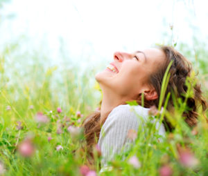 Woman relishes a spring day after IV ketamine for her treatment resistant depression.