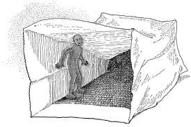 This man in trapped in paper bag needs to hear, Can overcome phobias IV ketamine.