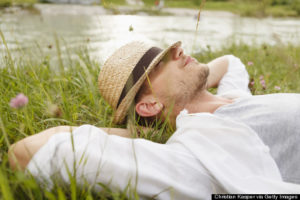Anxiety has lifted from this relaxed man. He says can you overcome phobias IV ketamine.