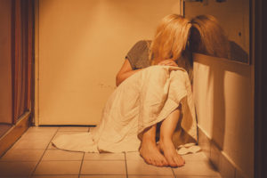 PTSD and depression treatment are needed for domestic abuse.