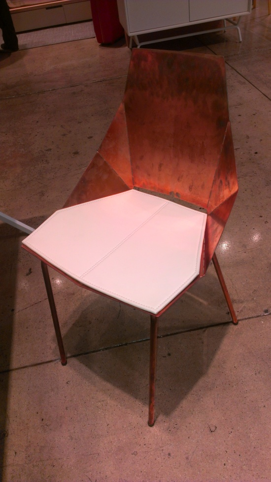 Blu Dot Real Good Chair In Copper