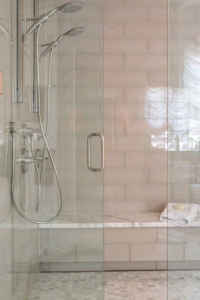 24 - LORI DENNIS INTERIOR DESIGNER VILLA DEL SUR MASTER BATH SHOWER