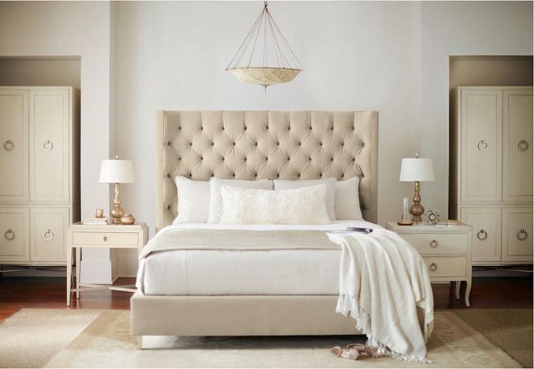 Monochromatic Bernhardt Furniture Bedroom