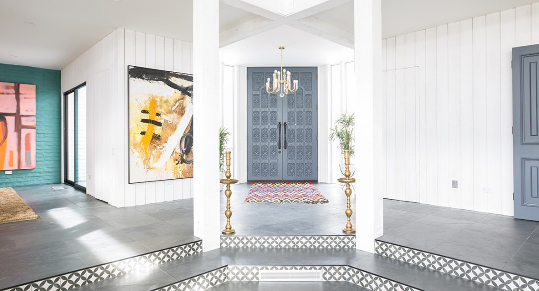 3 main ingredients in the Mid Century Moroccan style: Glamour, Modernism, and, of course, Moroccan Accents.