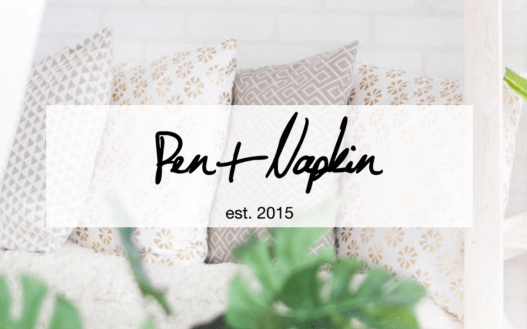 UPDATE: Ending Homelessness with Design – It's Install Day for Pen & Napkin