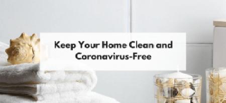 clean kitchen coronavirus-free