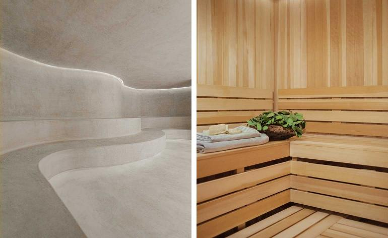 Wellness Spa Inspiration for Home Sauna Design
