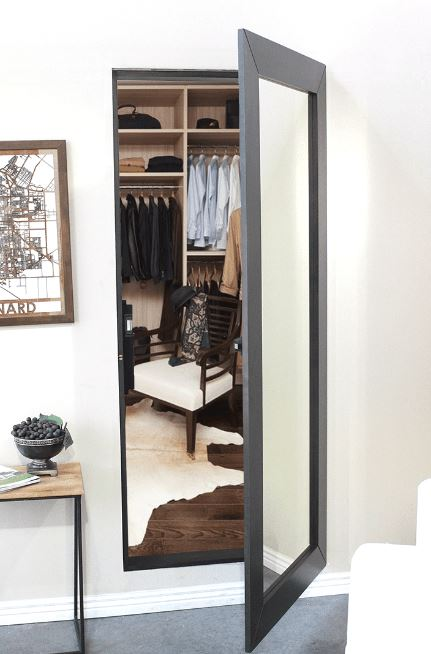 Closet Must Have Secret Room Safe Storage