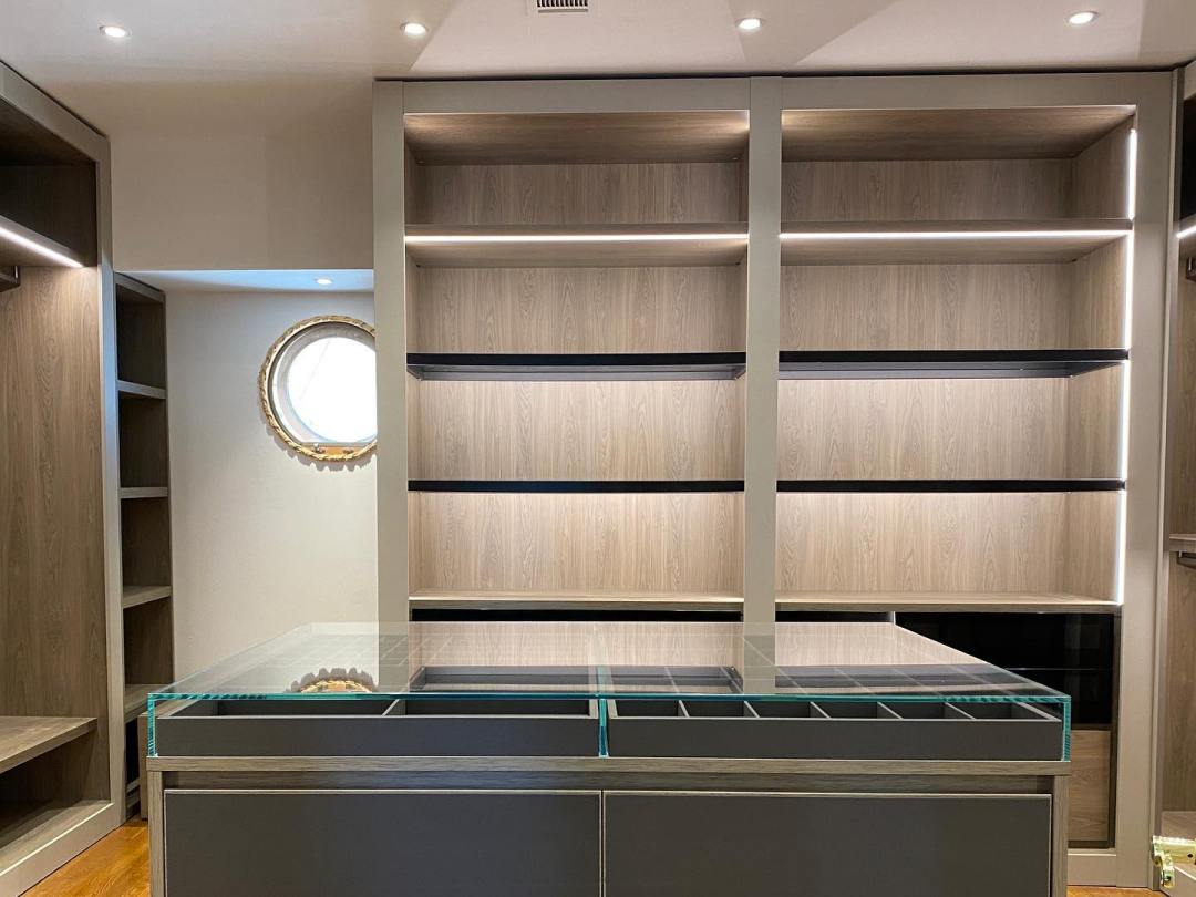 Closet Must Haves Integrated Interior Closet Lighting