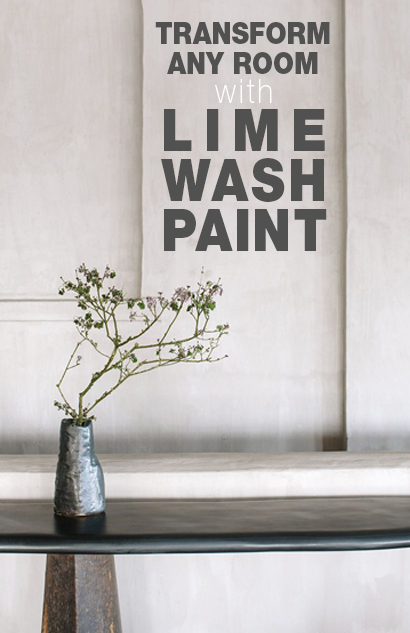 How to Transform Any Room with Lime Wash Paint