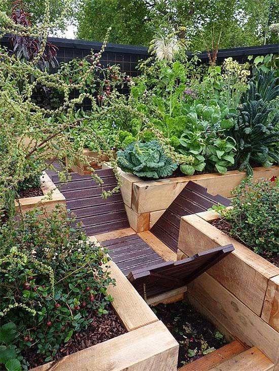 Smart Edible Garden Landscape Design