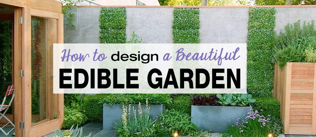How to Design a Beautiful Edible Garden