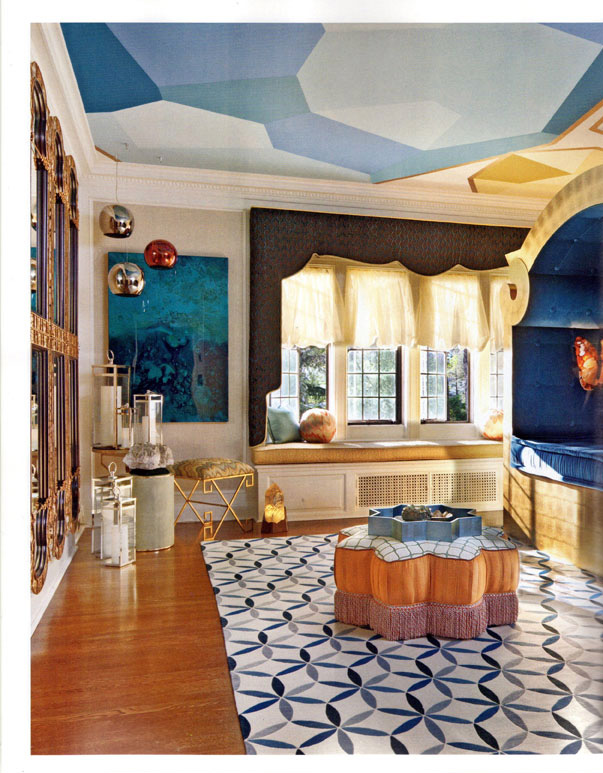 Celebrity Los Angeles Interior Designer Lori Dennis Los Angeles Luxe Magazine January, 2012
