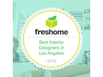 Fresh Home | Best Interior Designers in Los Angeles | Spring 2016