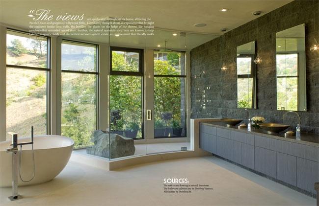 Celebrity Los Angeles Interior Designer Lori Dennis Pure Green Winter, 2011