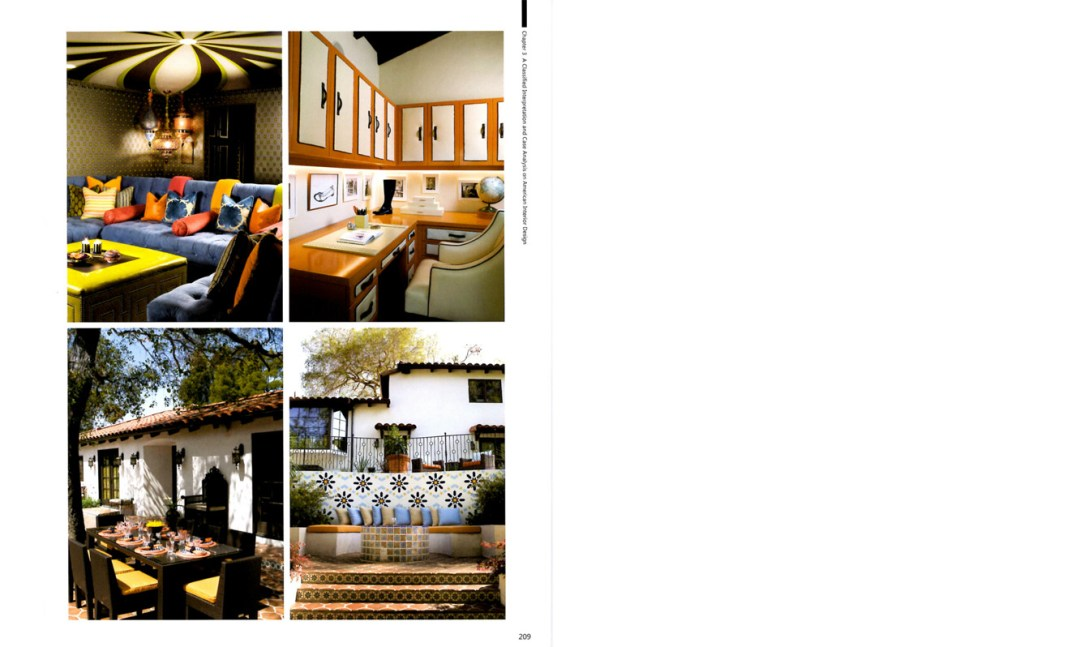 Manual of American Interior Design Spread 3 Celebrity Interior Designer Lori Dennis