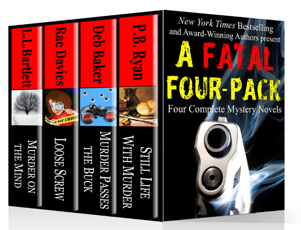 A Fatal Four-Pack: Four Complete Mystery Novels to beneft the Cystic Fibrosis Foundation