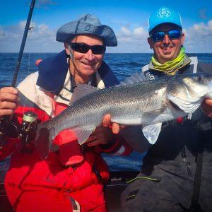 gros poisson pour Hubert en sortie pere et fille