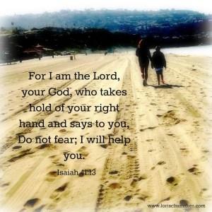 Isaiah 41-13; defeat fear