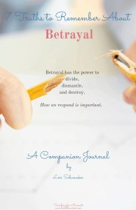 Betrayal Companion Journal