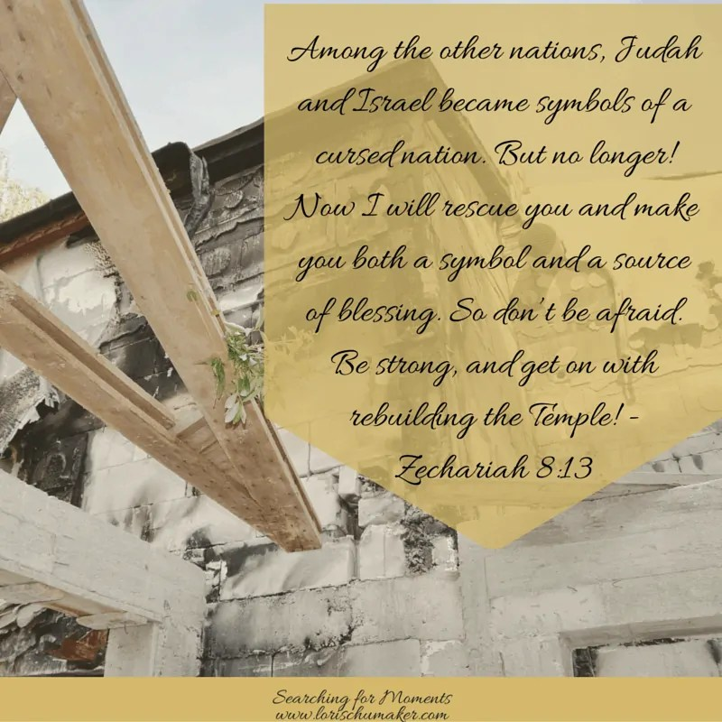Zechariah 8:13