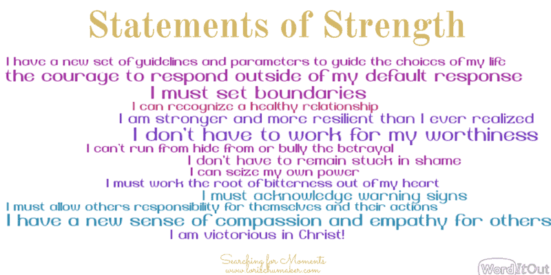 Statements of Strength