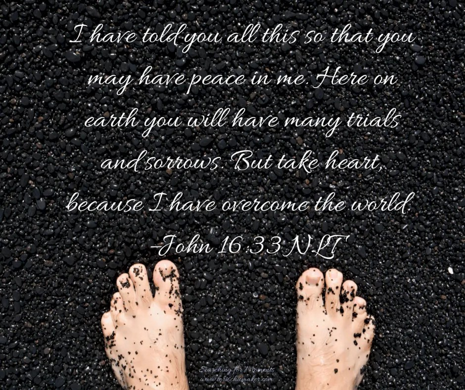 John 16-33 - If You Say So - Making the Hard Choices in Life - Lori Schumaker