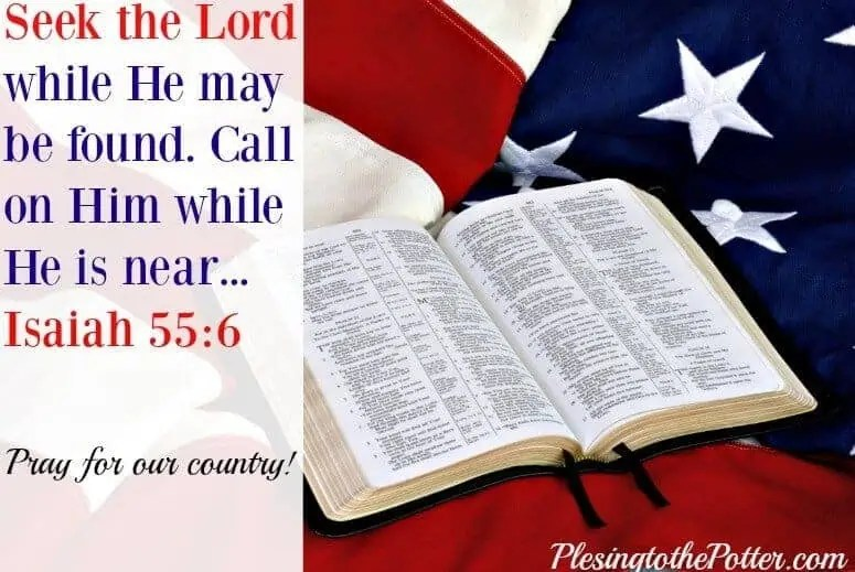 Seek-God-and-Pray-for-America- 4th of July - Moments of Hope Feature