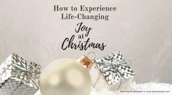 But today I think we are much like the inns having no room for Mary and Joseph. They were so full they missed the life-changing moment of the Savior's birth. And we, too, are so busy and our lives so full, we miss out on life-changing joy. -How to Experience Life-Changing Joy at Christmas - Lori Schumaker