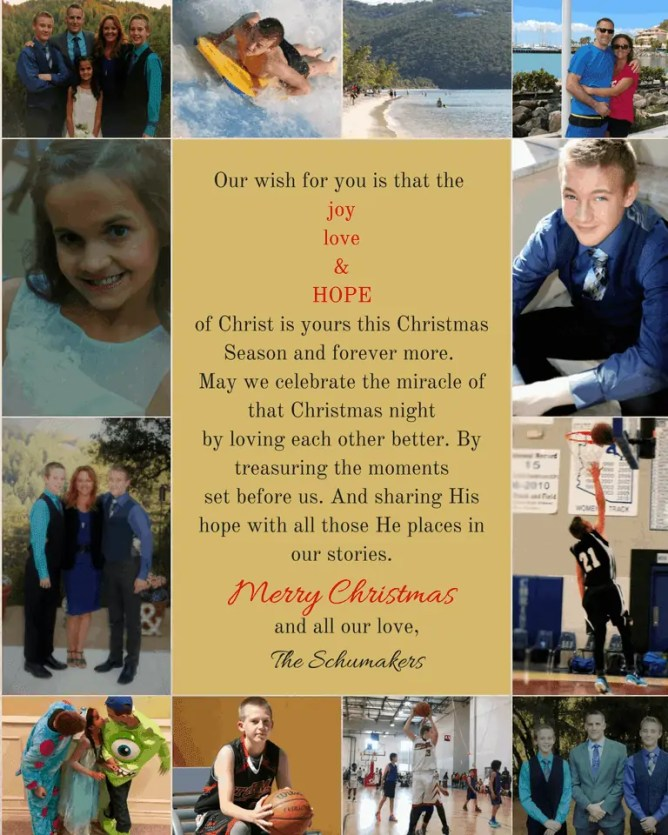 Merry Christmas 2016 - Lori Schumaker