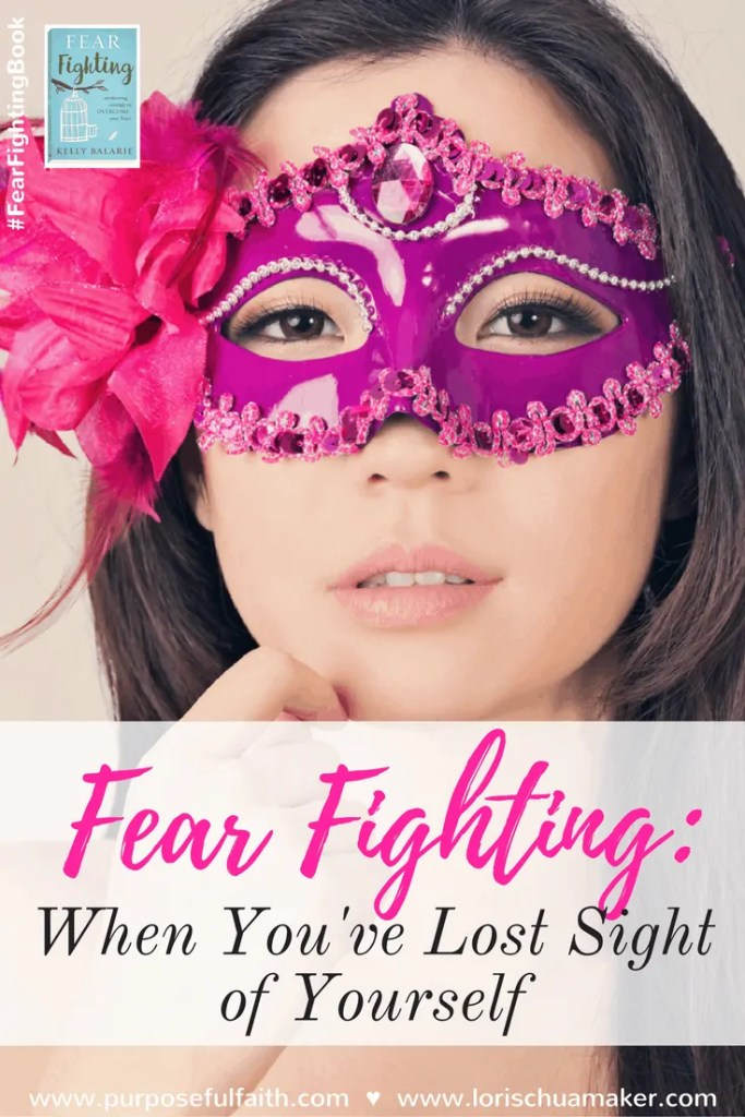 """The world demands so much from us. We are pulled this way and that, looking into the eyes of others to dermine our worth, we too often see the disappointment and hear the whisper of """"not enough"""". I don't know about you, but I'm ready to take a stand! Fear Fighting: When You've Lost Sight of Yourself by Kelly Balarie for Lori Schumaker #fearfightingbook"""