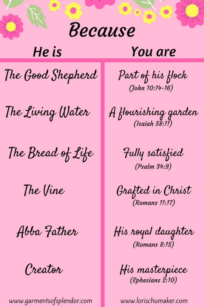 On Race Lies and the Truth That Sets Free #ChosenandWorthy - When ugly words and thoughts are slung your way, call them out as lies and replace them with Truth. A chart to know you are #ChosenandWorthy- Christin Baker for Lori Schumaker