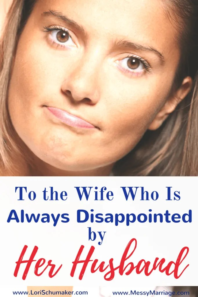 Do you find yourself struggling with your worth every time your husband says the wrong thing? Could you be guilty of making him your savior because of a broken identity? | Disappointed Wife|