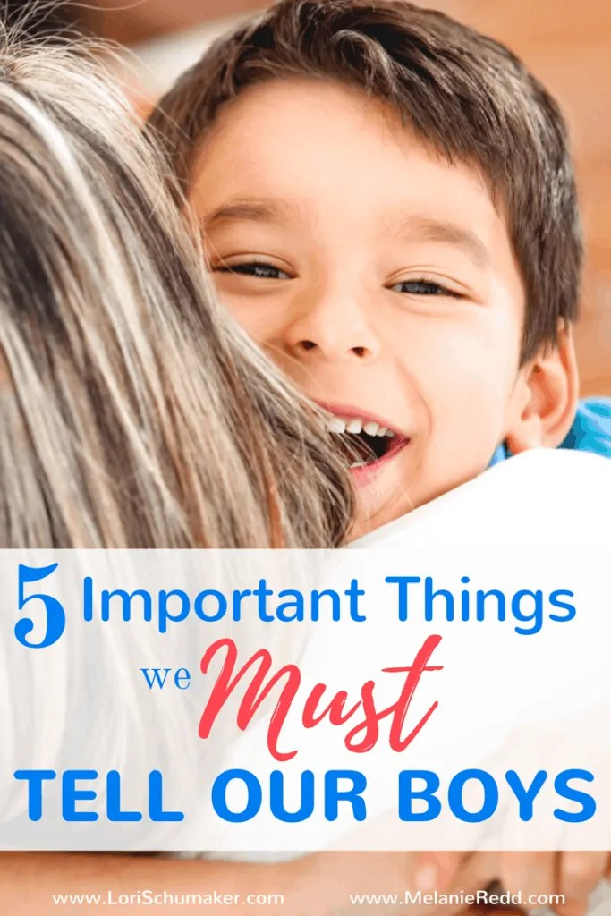 5 Important Things We Must Tell Our Boys | When it comes to raising boys, there is something wonderfully unique about a boy which means there are some pretty important things we need to make sure he knows along the way!
