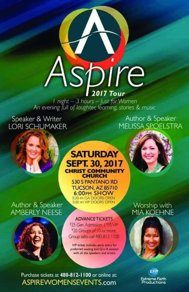 Aspire Women's Events - Tucson #womensevents #womensministry