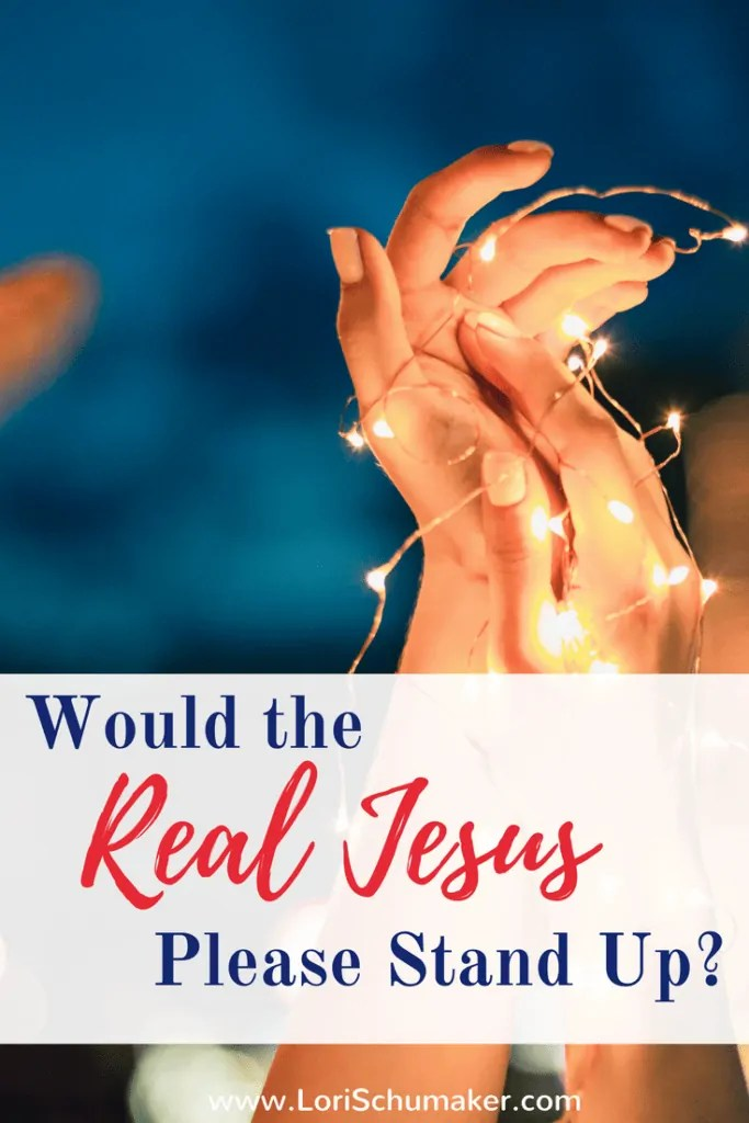 Would the Real Jesus Please Stand Up | Finding Jesus amid all the versions created by the world and our religions, cultures, and media can leave us confused about the #realJesus #Jesus #Christianity #stolenJesus
