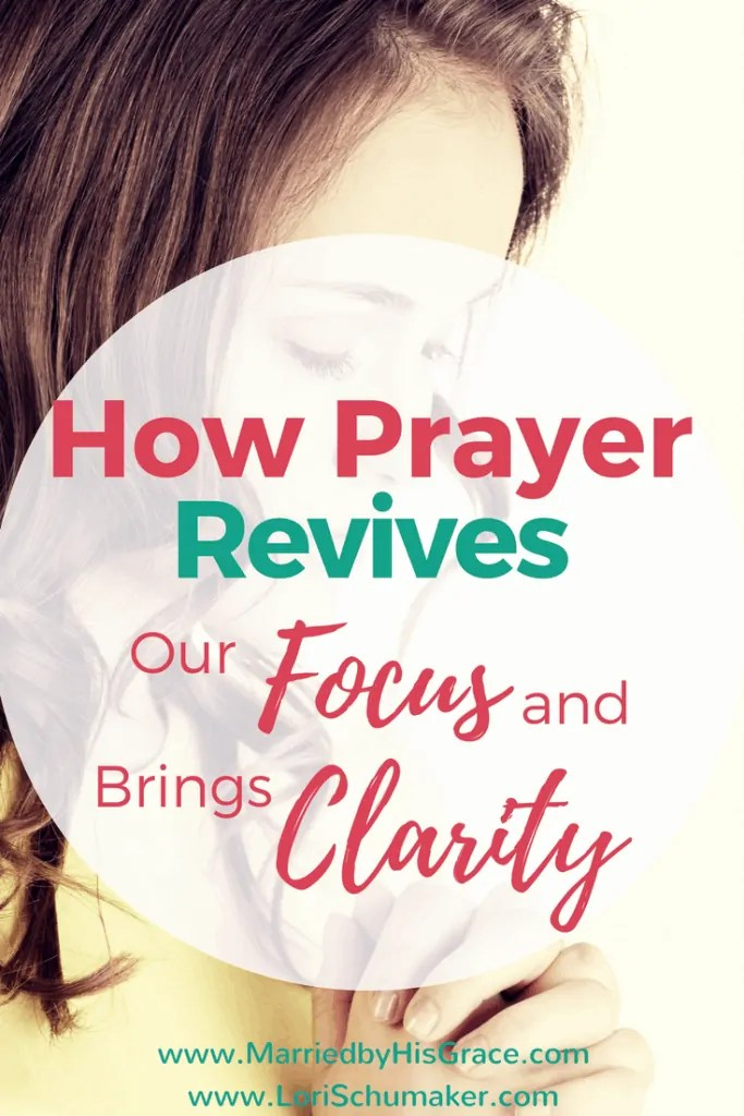 How Prayer Revives Our Focus and Brings Clarity | Prayer Direction #prayer #powerofprayer #reviveyourlife #hope #momentsofhope