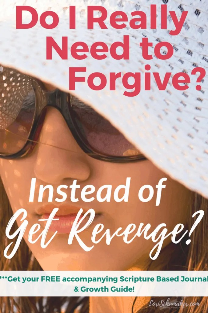 The world and our very own flesh glamorize revenge. They tell us that to get revenge will heal our wounds and make the hurt disappear. But the truth is really quite the opposite. #forgiveness #revenge #godslove #betrayed #rejection #risingabove #overcome